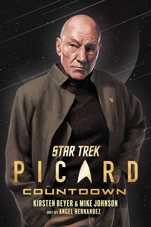 Star Trek Picard Countdown TP Vol 01 - Books