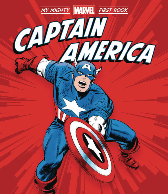 Captain America My Mighty Marvel First Book Board Book - Books