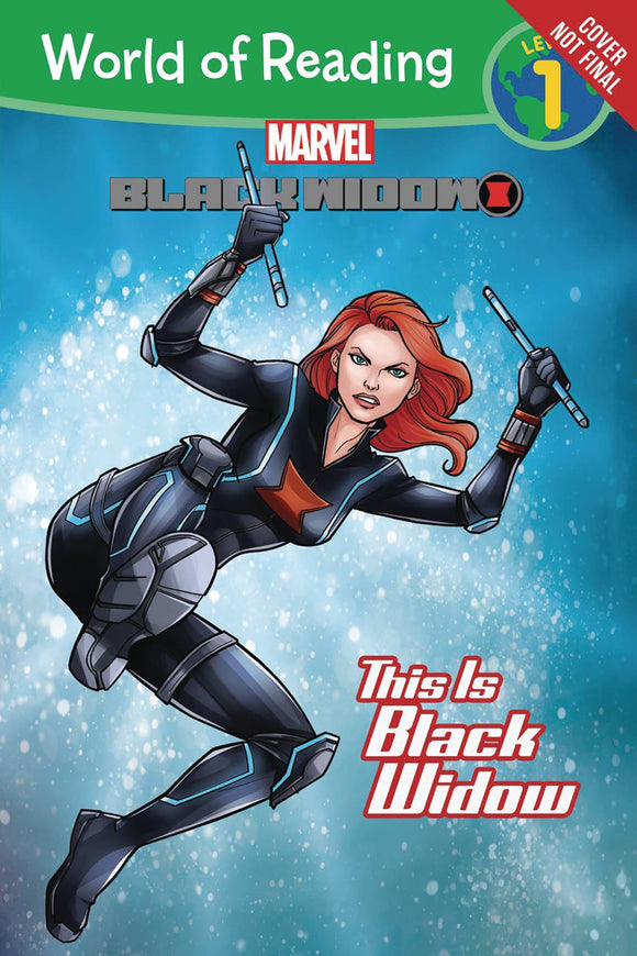 World Of Reading This Is Black Widow Sc