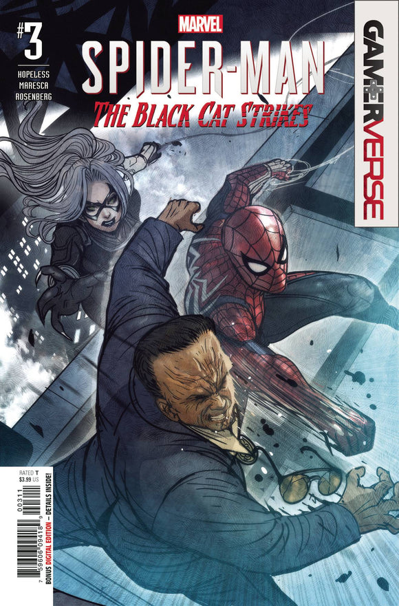 Marvels Spider-Man Black Cat Strikes #3 (Of 5)