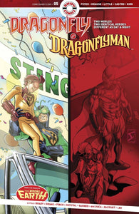 Dragonfly & Dragonflyman #5 (Of 5)