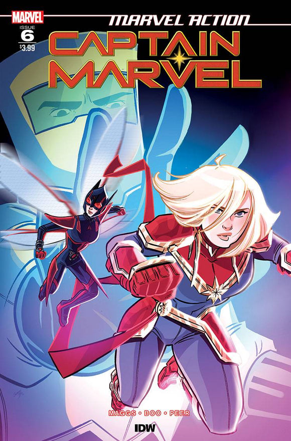 Marvel Action Captain Marvel #6 Cvr A Boo - Comics
