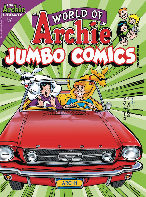 World Of Archie Jumbo Comics Digest #97