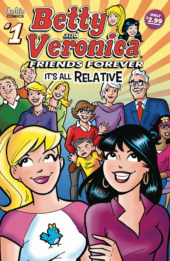 Betty & Veronica Friends Forever All Relative #1