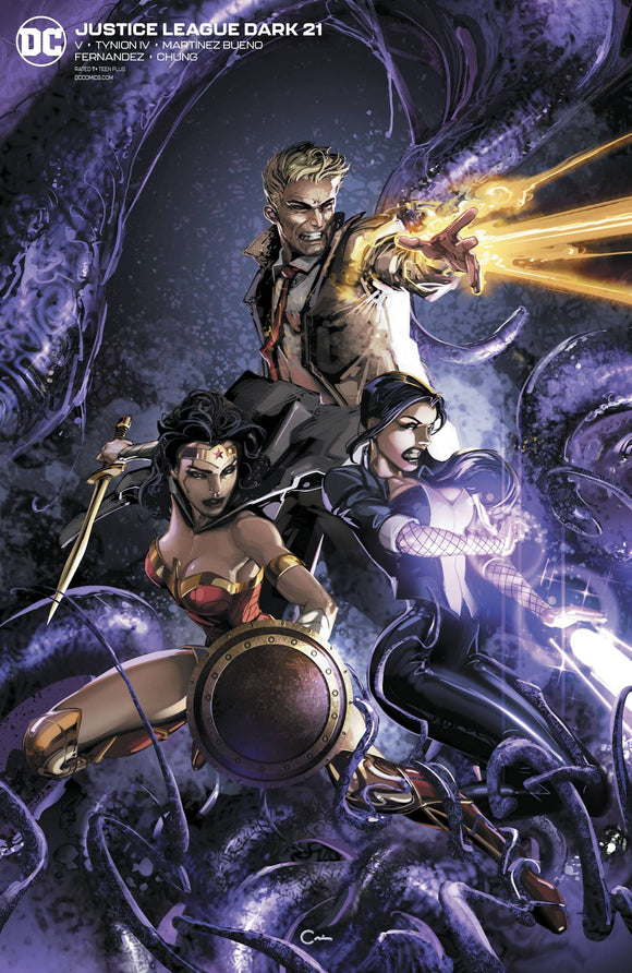 Justice League Dark #21 Clayton Crain Var Ed