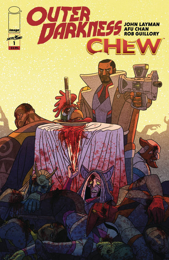Outer Darkness Chew #1 (Of 3)