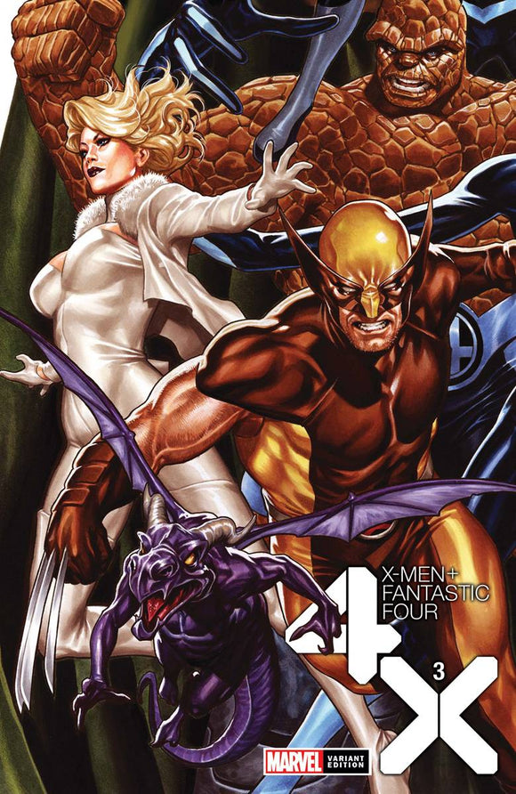 X-Men Fantastic Four #3 (Of 4) Brooks Var