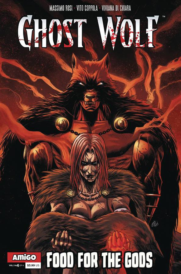 Ghost Wolf Vol 3 End of All Tales #4 (of 4) - Comics