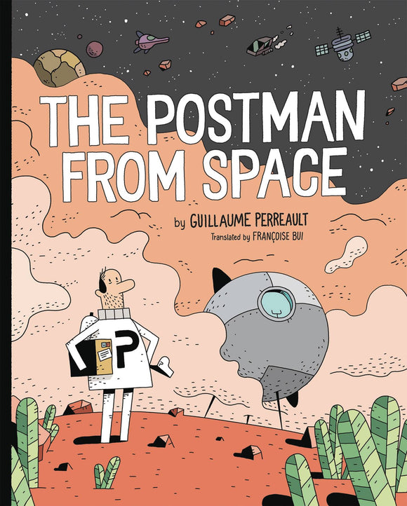 Postman From Space GN - Books