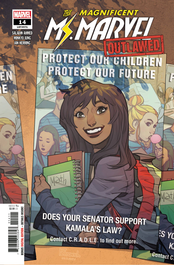 Magnificent Ms Marvel #14 Out - Comics