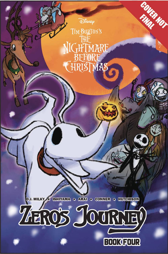 Disney Manga Nightmare Christmas Zeros Journey TP Vol 04 - Books