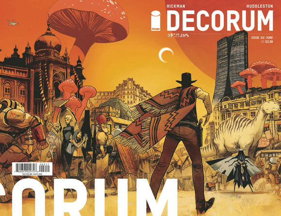 Decorum #2 Cvr A Huddleston - Comics