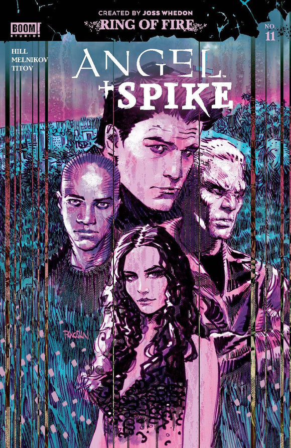 Angel & Spike #11 Cvr A Main Panosian - Comics