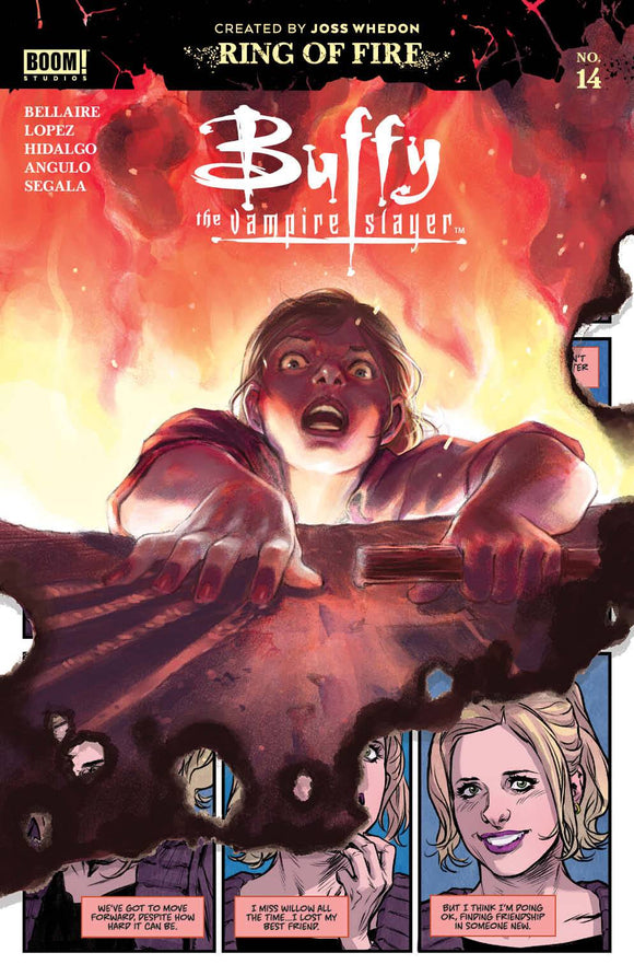 Buffy The Vampire Slayer #14 Cvr A Main Lopez - Comics