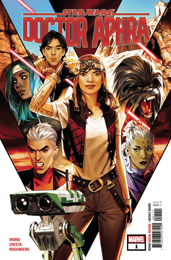 Star Wars Doctor Aphra #1 - Comics