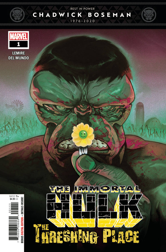Immortal Hulk Threshing Place #1 - Comics