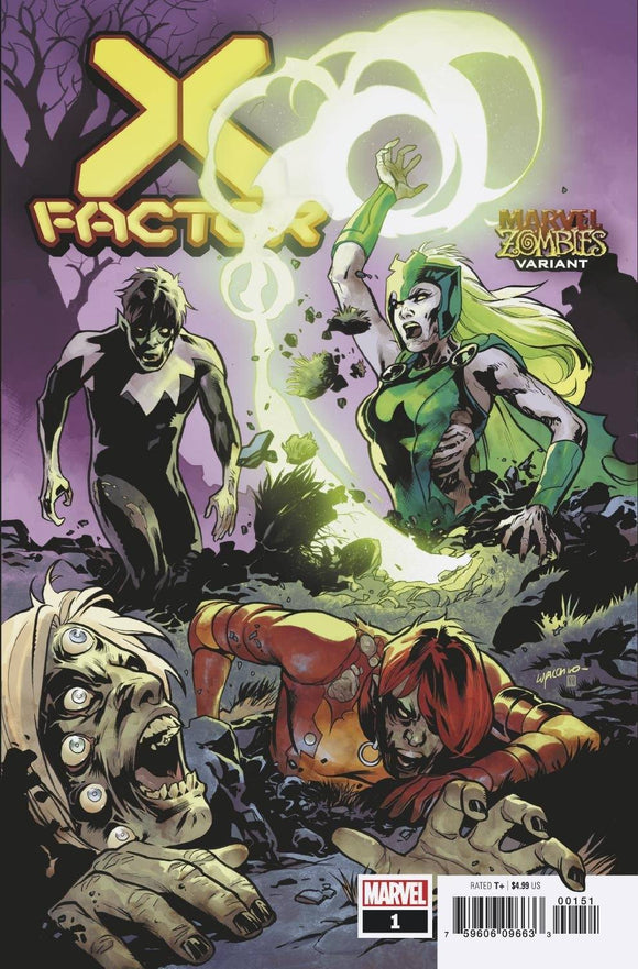X-Factor #1 Lupacchino Marvel Zombies Var - Comics