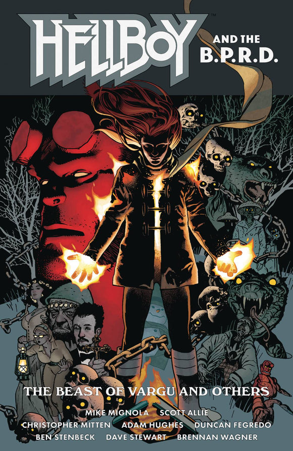Hellboy and The Bprd Beast of Vargu & Others TP - Books