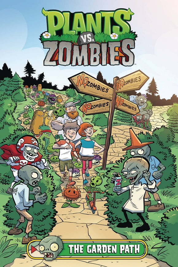 Plants vs Zombies Garden Path HC - Books