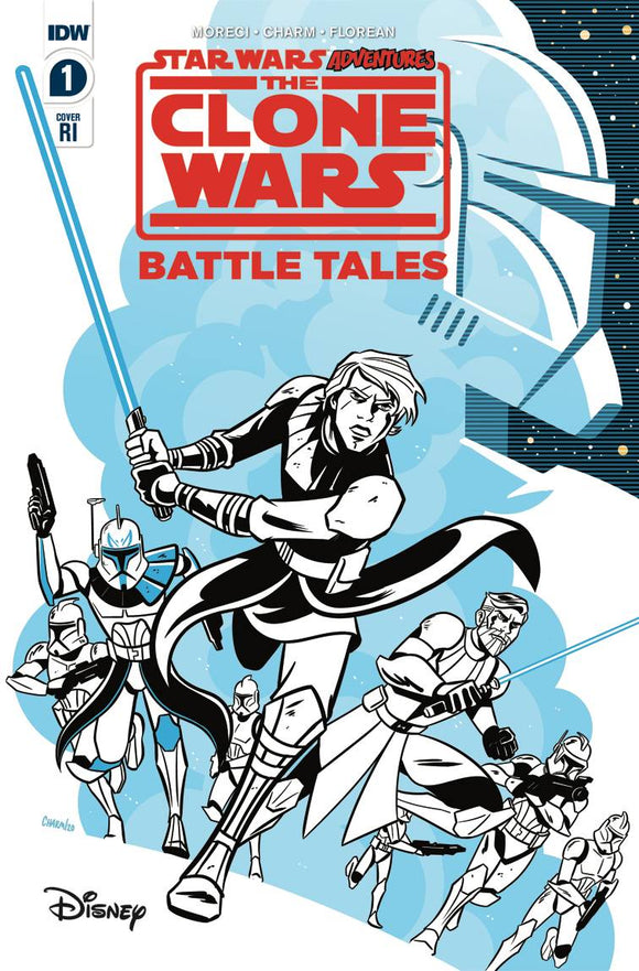 Star Wars Adventures Clone Wars #1 (of 5) Charm Variant - Comics