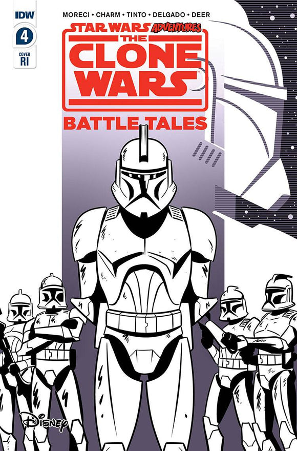 Star Wars Adventures Clone Wars #4 (of 5) Charm Variant - Comics