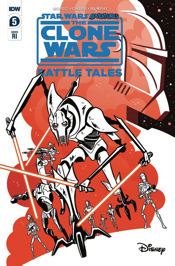 Star Wars Adventures Clone Wars #5 (of 5) Charm Variant - Comics