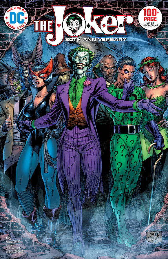 Joker 80Th Anniv 100 Page Super Spect #1 1970S Jim Lee - Comics