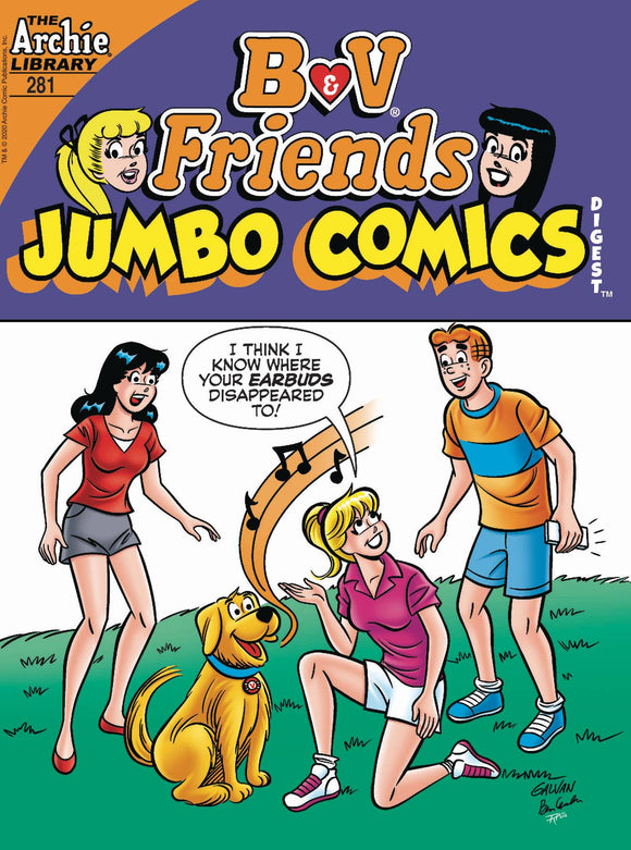B & V Friends Jumbo Comics Digest #281 - Comics