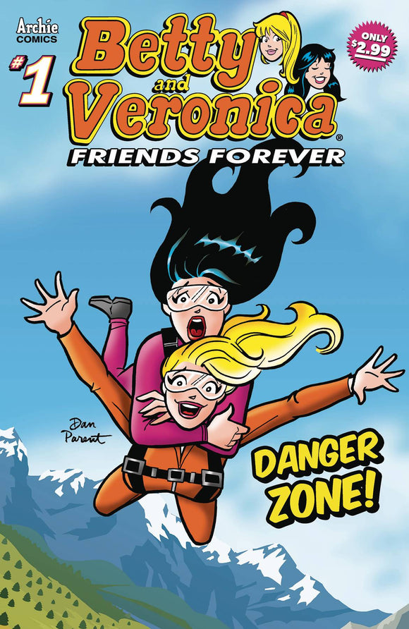 Betty &Veronica Friends Forever Danger Zone #1 - Comics