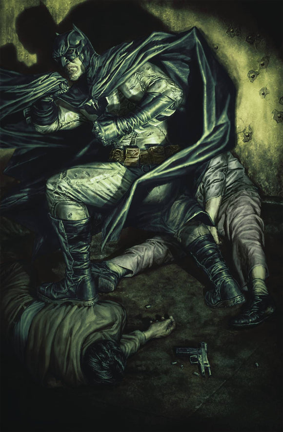 Detective Comics #1023 Card Stock Lee Bermejo Var Ed Joker War - Comics