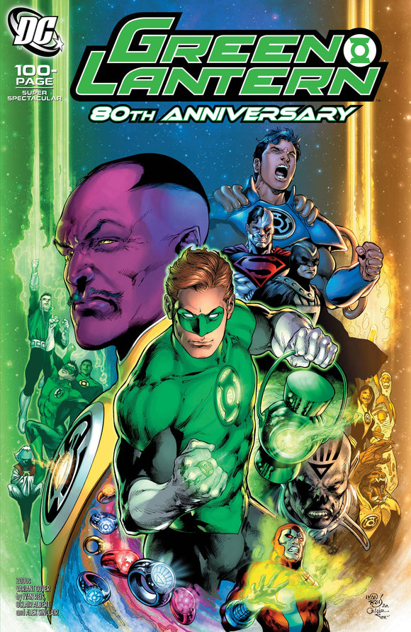 Green Lantern 80Th Anniv 100 Page Super Spect #1 2000S - Comics