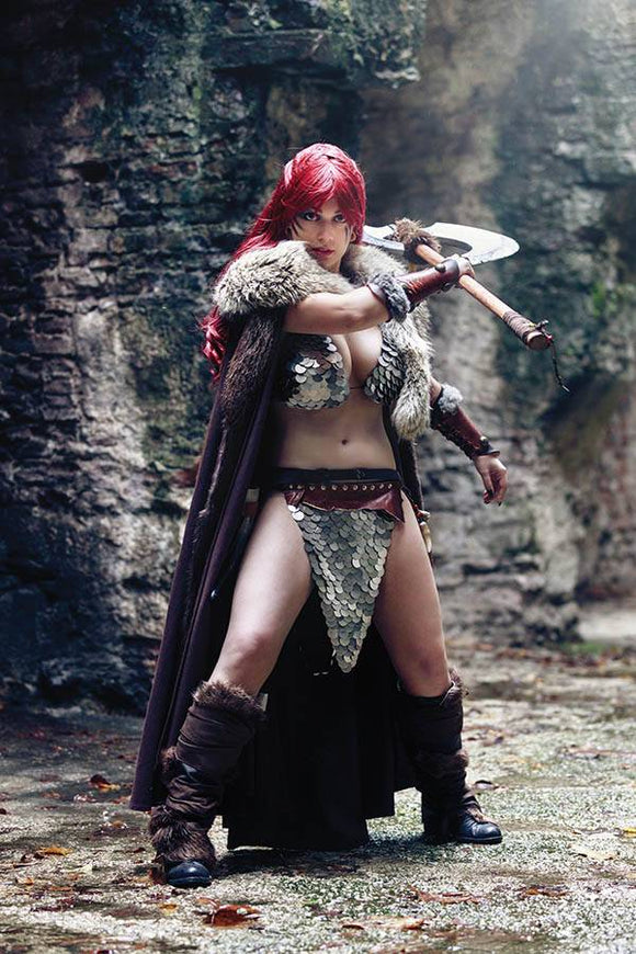 Red Sonja Age of Chaos #5 Cosplay Virgin Variant - Comics