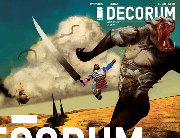 Decorum #3 Cvr A Huddleston - Comics