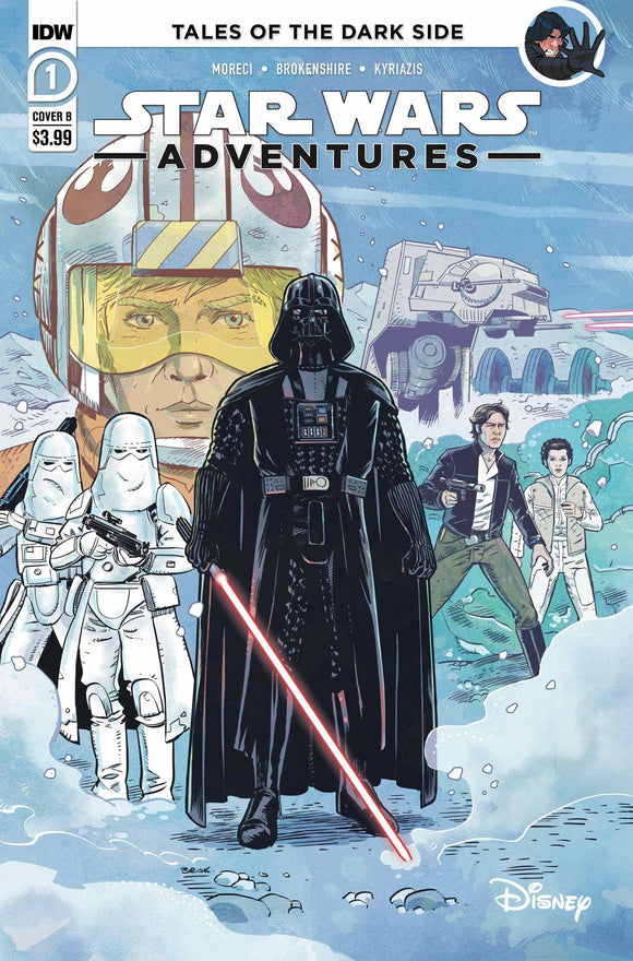 Star Wars Adventures #1 Cvr B Brokenshire - Comics