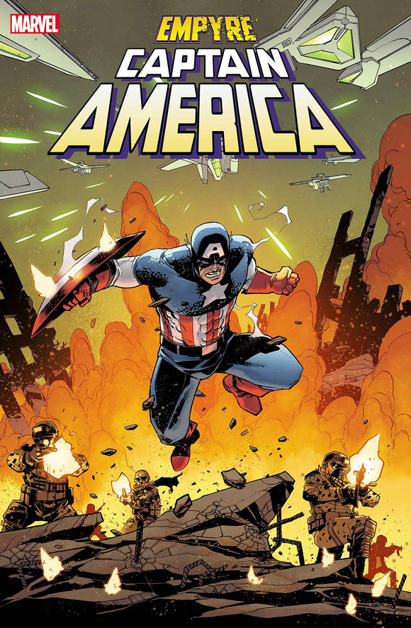 Empyre Captain America #1 (of 3) - Comics