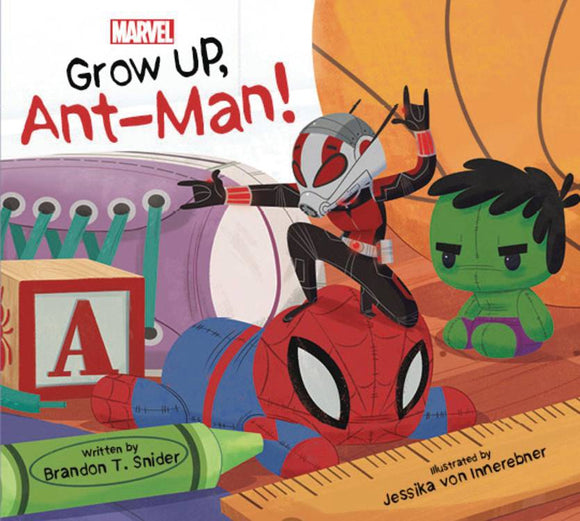 Grow Up Ant-Man Board Book - Books