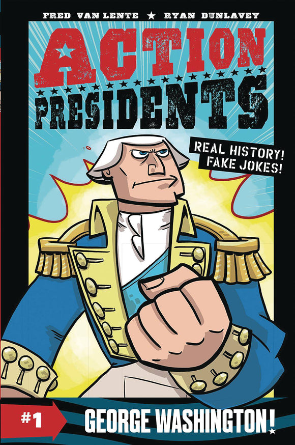 Action Presidents Color SC GN Vol 01 George Washington - Books