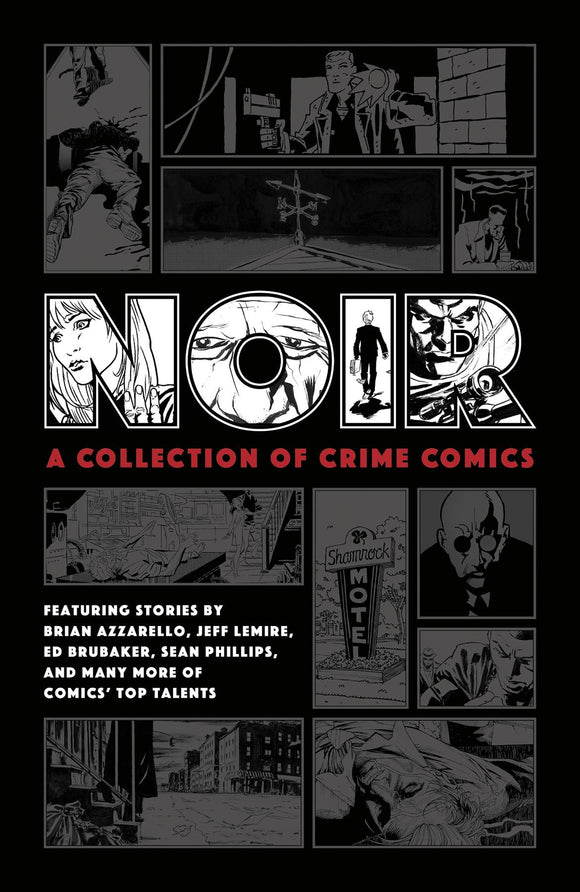 Noir Collection of Crime Comics HC - Books