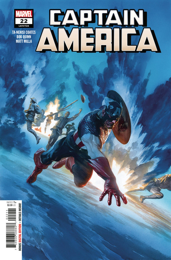 Captain America #22 - Comics