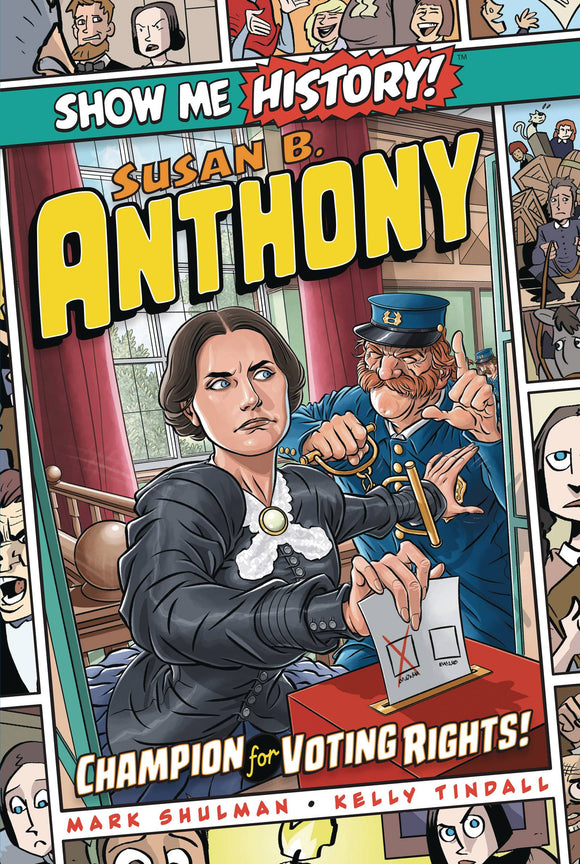 Show Me History GN Susan B Anthony - Books