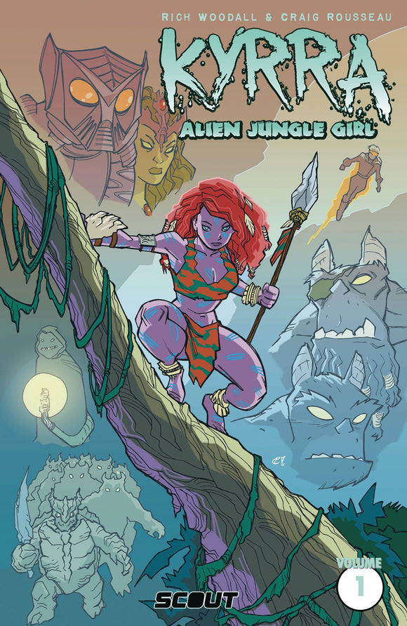 Kyrra Alien Jungle Girl TP - Books