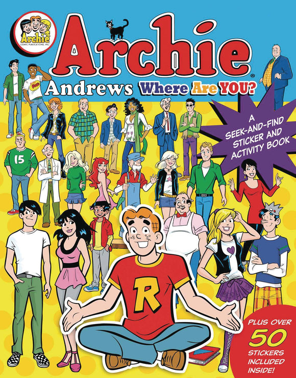 Archie Andrews Where Are You Seek and Find Book - Books