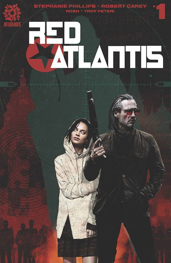 Red Atlantis #1 Bradstreet Variant - Comics