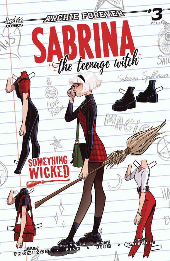 Sabrina Something Wicked #3 (of 5) Cvr B Boo - Comics