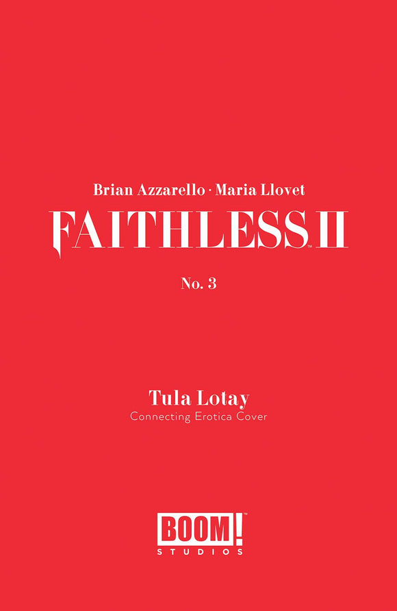 Faithless II #3 Cvr B Erotica Connecting Var - Comics