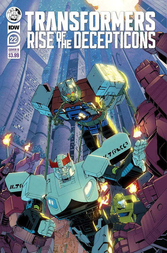 Transformers #22 Cvr B Griffith - Comics