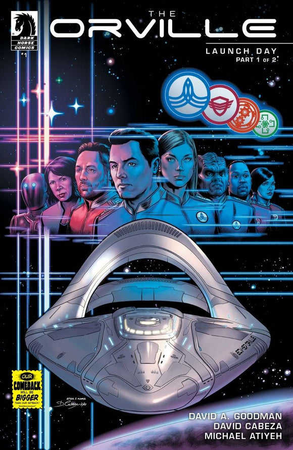 Orville #1 Launch Day - Comics