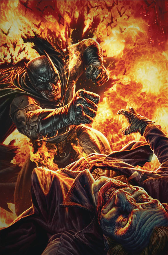 Detective Comics #1024 Card Stock Lee Bermejo Var Ed Joker War - Comics