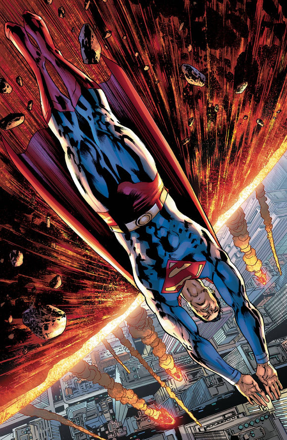 Superman #24 Bryan Hitch Var Ed - Comics