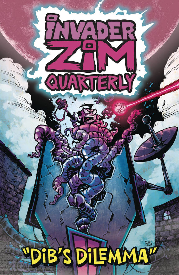 Invader Zim Quarterly #2 Cvr B Crosland - Comics